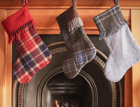 Cashmere Surplus Stockings for Charity