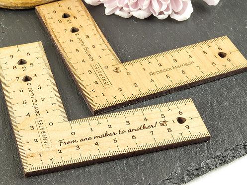 Bespoke Jenerates Sewing Ruler