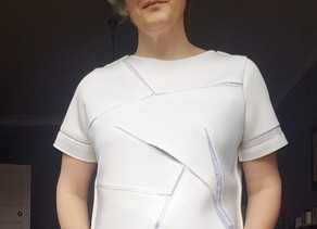Drafting a Wearable Origami Top