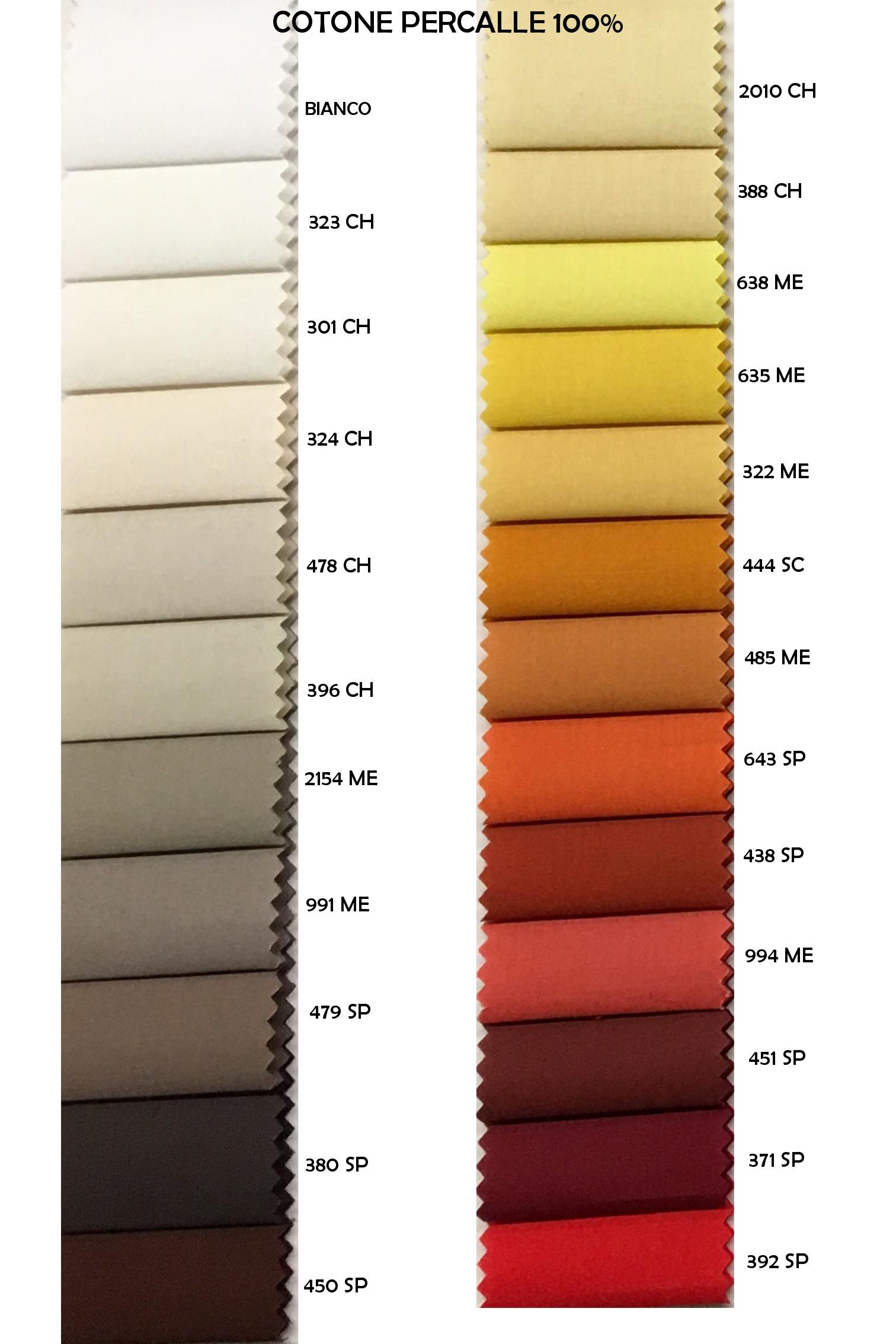 Colori cotone percalle 100% (1)