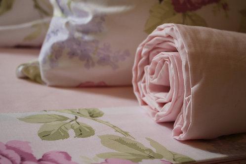 """Completo letto """"ROSE"""" cotone 100%"""
