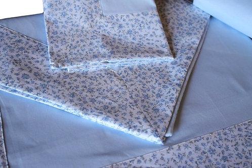 """Completo letto """"PROVENZALE"""" cotone 100%"""