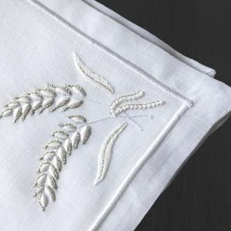 Fazzoletto con spiga di grano