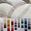 Thumbnail: Completo letto flanella di cotone 100% con balza in raso