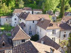 Vue du village de Saint-Cirq Lapopie