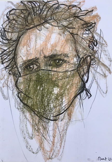 Lockdown Hair, Self-Portrait