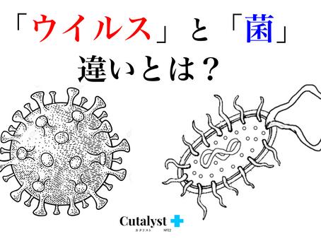 「ウイルス」と「菌」の違いとは?意外と知らない・答えられない「ウイルス」と「菌」の違いをご紹介します|Cutalyst+(カタリスト)