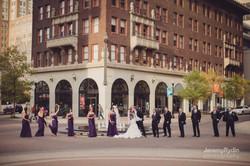 downtown Tulsa wedding