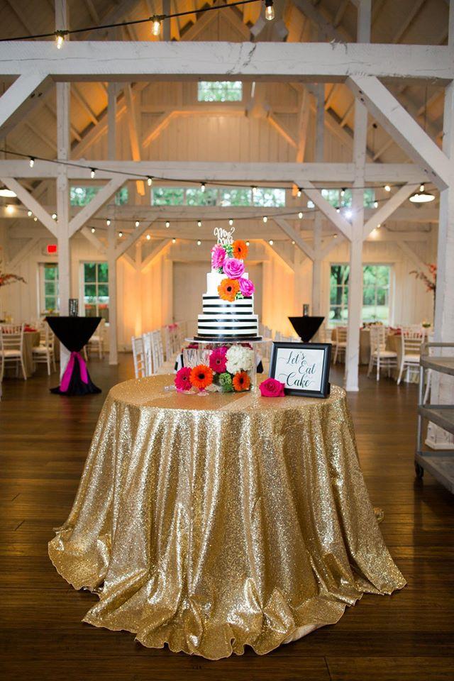 Kate Spade inspired bridal cake