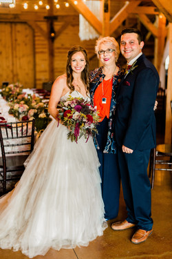 Bride and Groom with Lynn