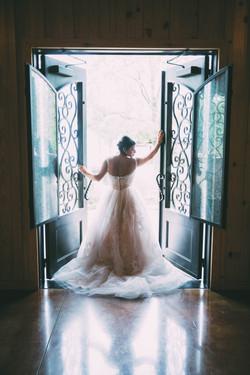 Skiatook Springs bride