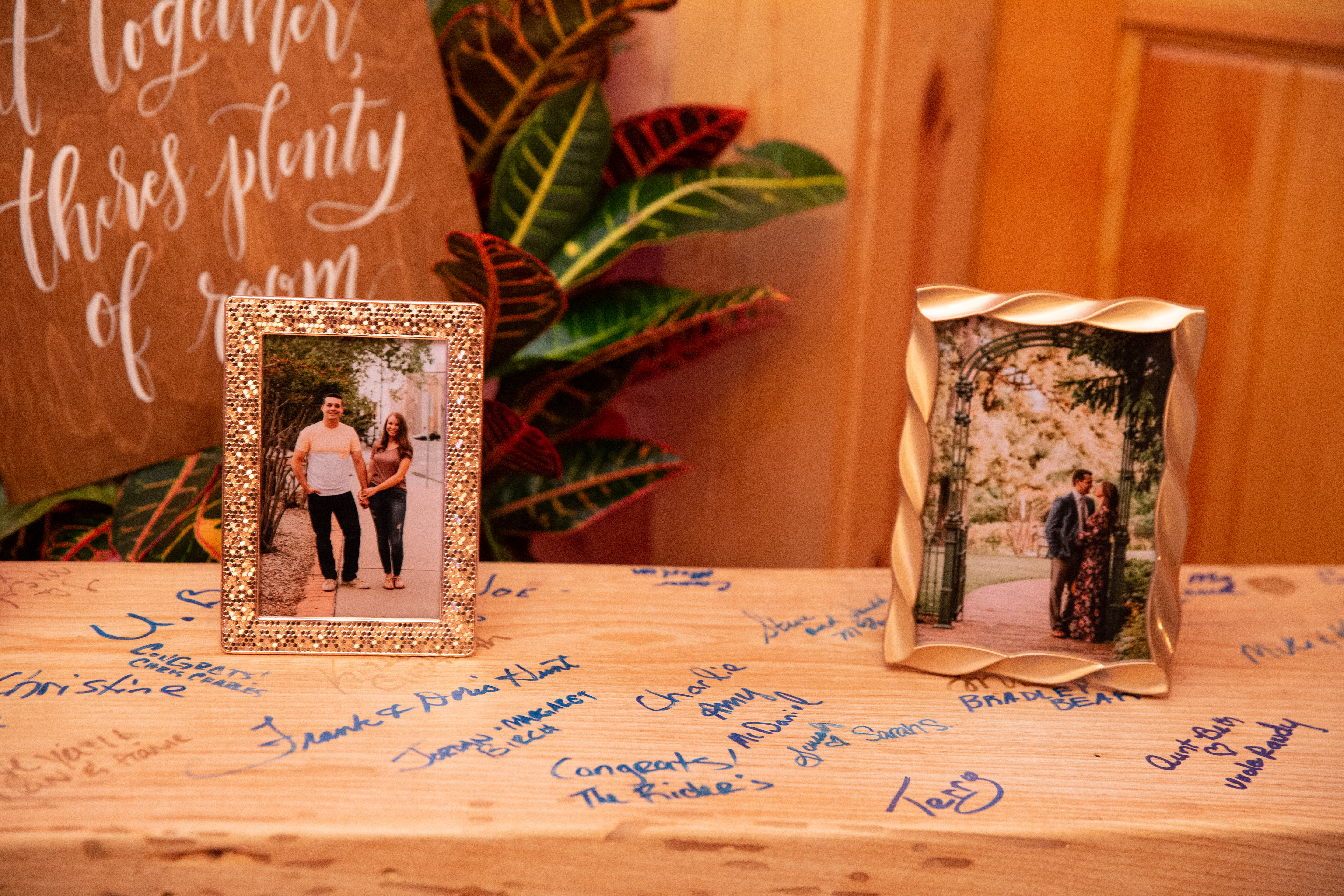 Guest Book Bench