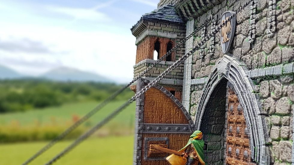 """""""Let's get in, the castle looks empty.."""""""