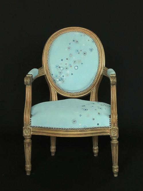 """Cabriolet Louis XVI enfant """"Teddy"""""""