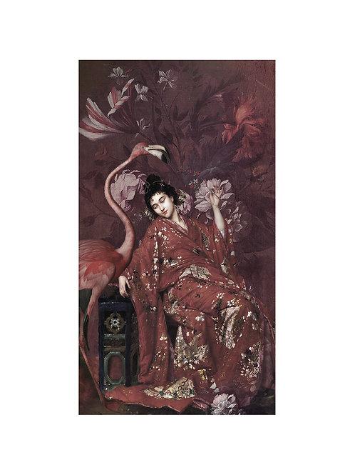 Tenture murale La Japonaise 69 x 100