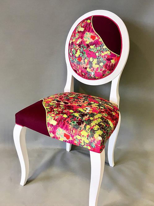 "Chaise médaillon ""Promenade"""