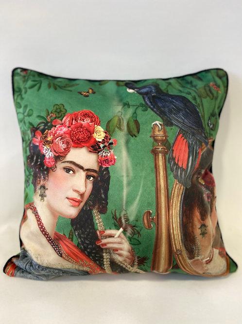 """Coussin déhoussable """"Frida"""" 50x50 cm"""