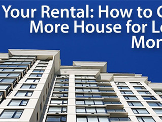 5 steps to finding the best-value homes for rent — and getting one