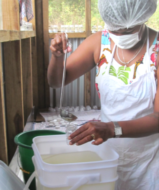Tavulomo Coconut Oil Samples