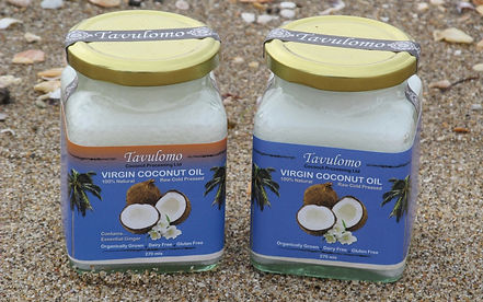 Coconut Oil and Ginger Coconut Oil