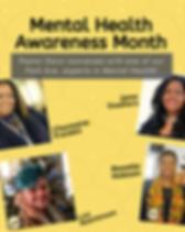 Mental Health Awareness Wednesday Offeri
