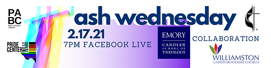 """Ash Wednesday"" Online Service"