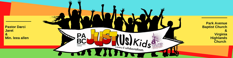 """Just(us) Kids a ministry collaboration"""