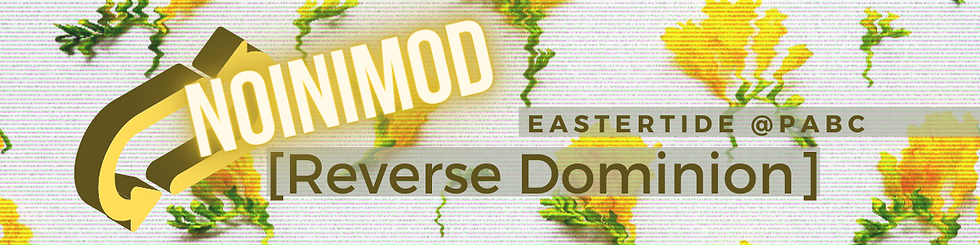 """""""Noinimod Reverse Dominion Eastertide and Park Ave"""""""