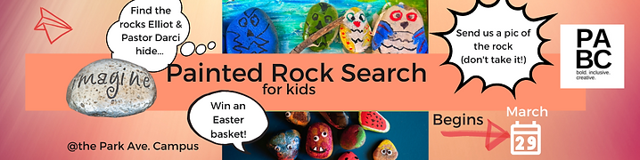 """""""Painted Rock Search for Kids Begins March 29"""""""