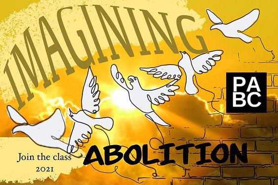 """Imaginging Abolition Class"""
