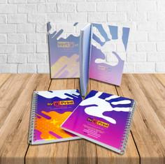 Cuadernos tapas plastico impresas