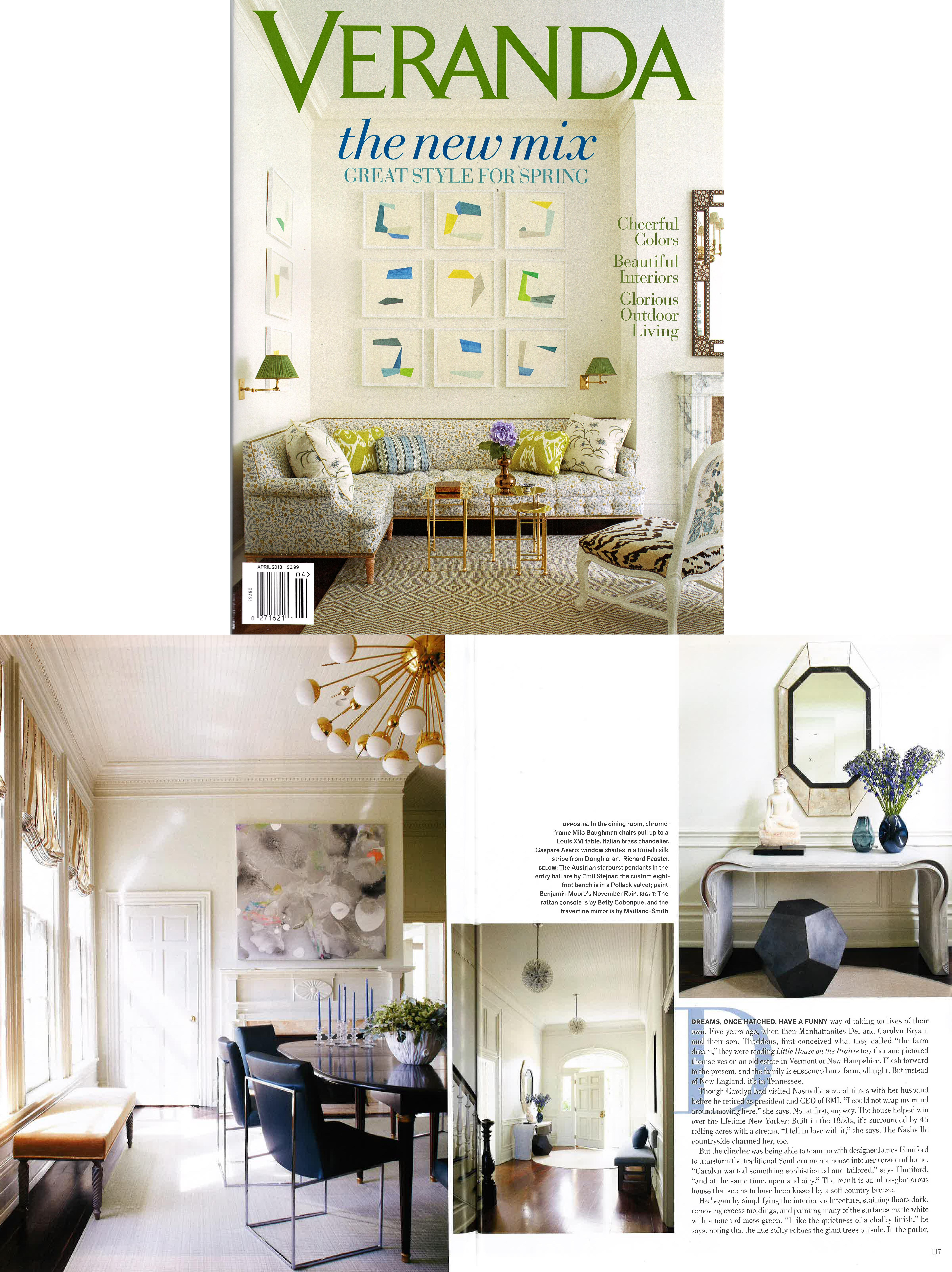 Richard Feaster Veranda Magazine