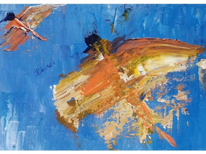 An Interview with Abstract Artist Juee Oberoi