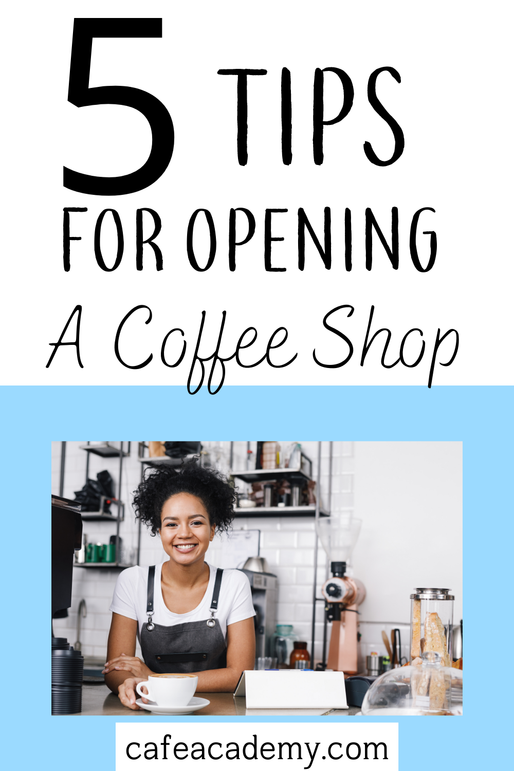 tips for opening a coffee shop