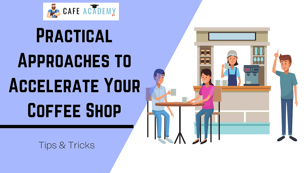 how can i make my coffee shop profitable
