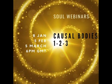 Soul Webinars - Causal Bodies I-II-III