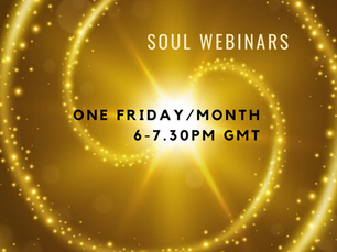 Soul Webinars - April to July 2021