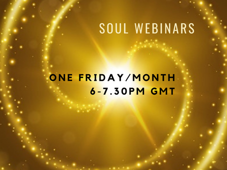 Soul Webinars - April to July 2021