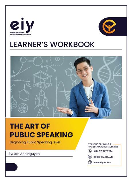 The art of public speaking (learner)