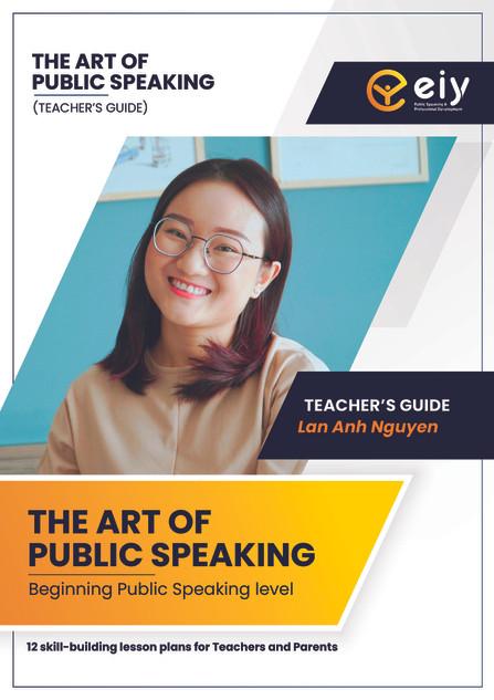 The art of public speaking (teacher)
