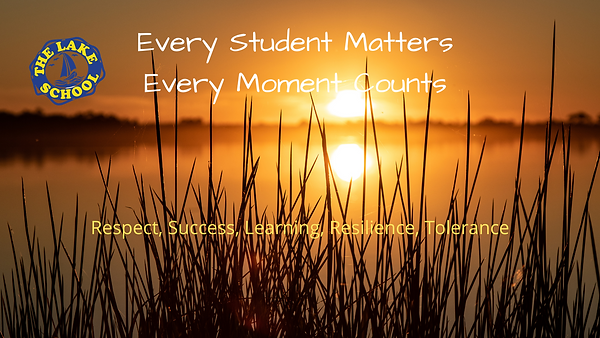 Every student matters, every moment coun