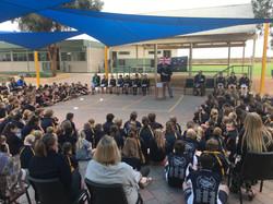 2019 School ANZAC service