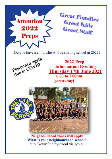 A4 Flyer for Kinders including open nigh
