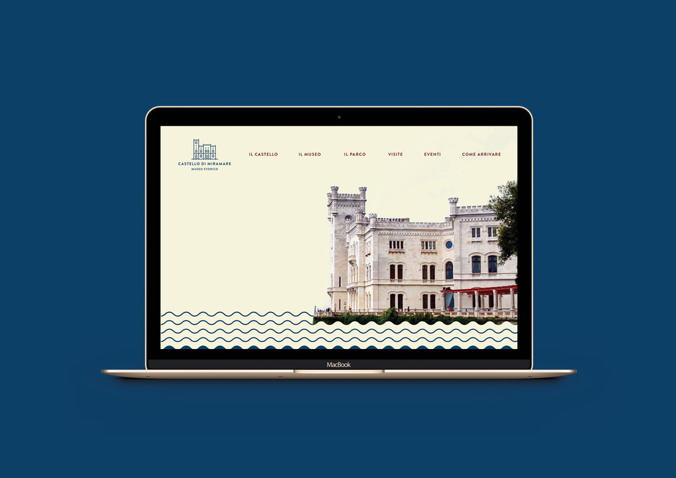 MIRAMARE Castle Trieste branding