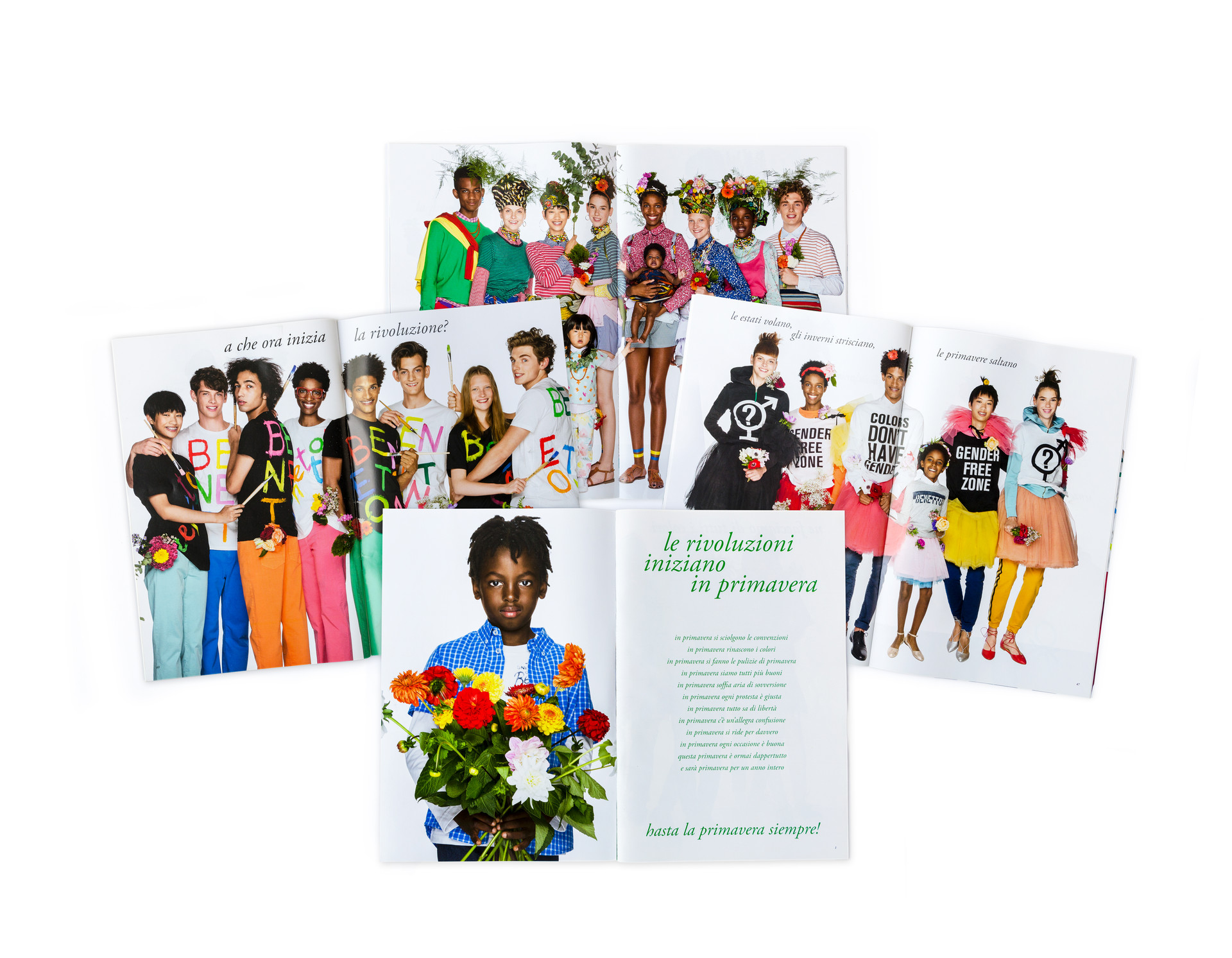 United colors of benetton catalogs