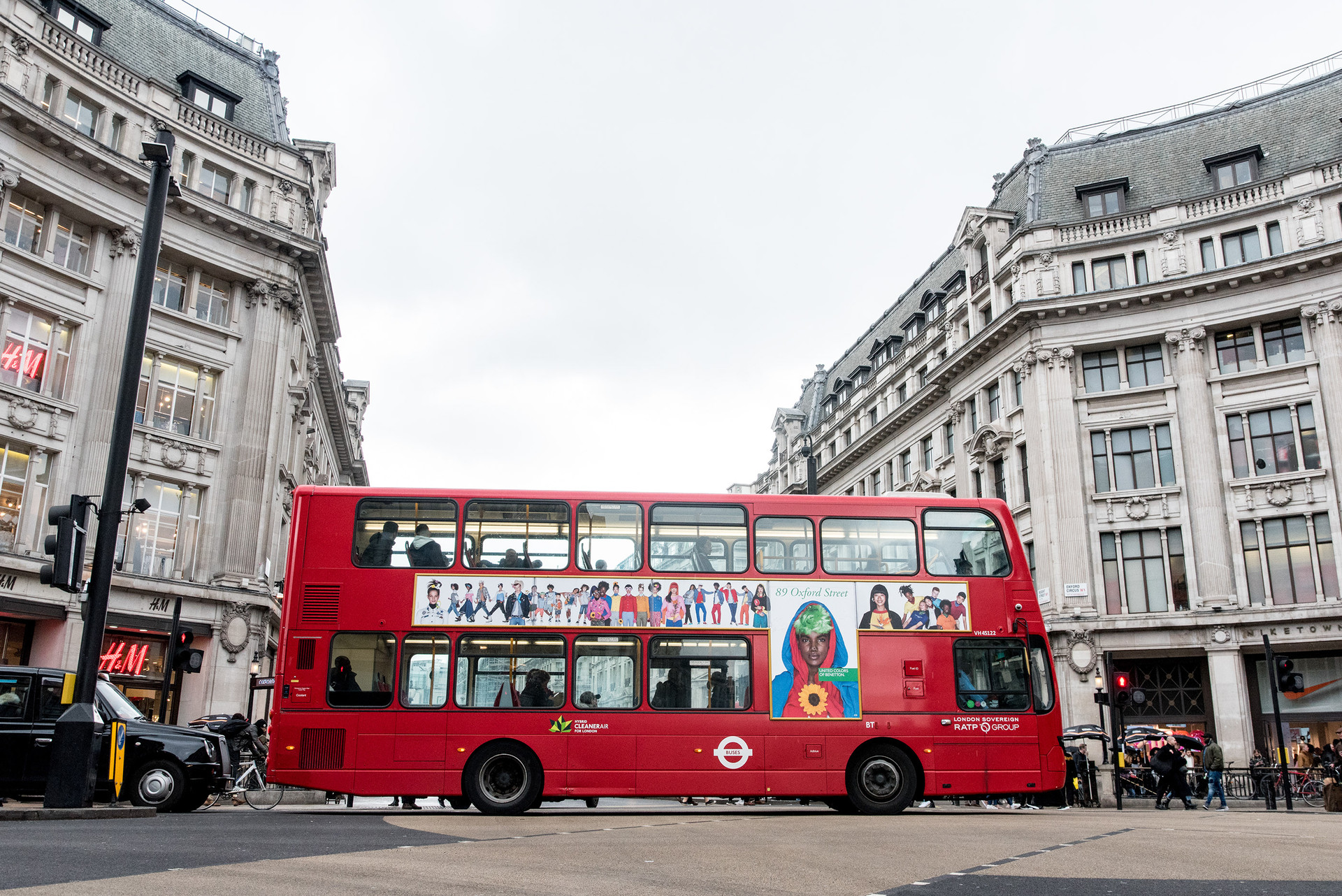 United colors of benetton campaign london