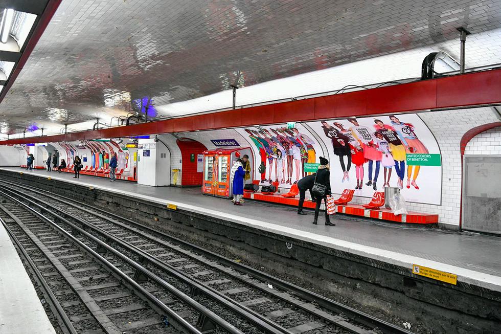 United colors of benetton campaign paris