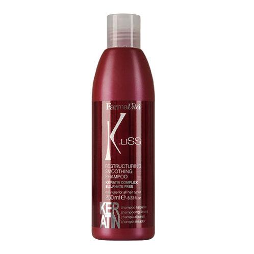 RESTRUCTURING SMOOTHING  KERATIN SHAMPOO / Шампунь для волос с кератином