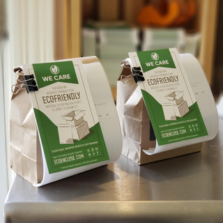 Fully Compostable Bags and Labels