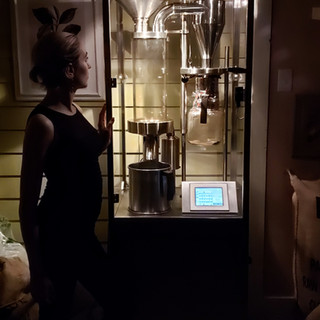 Creating Coffee at Night